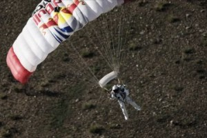 Red Bull Space Jump Publicity Stunt