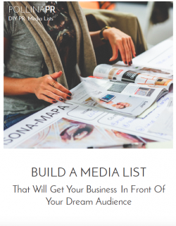 DIY PR GUIDE: Build A Media List