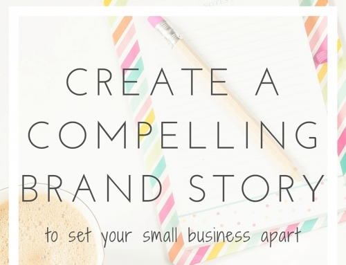 create a compelling brand story