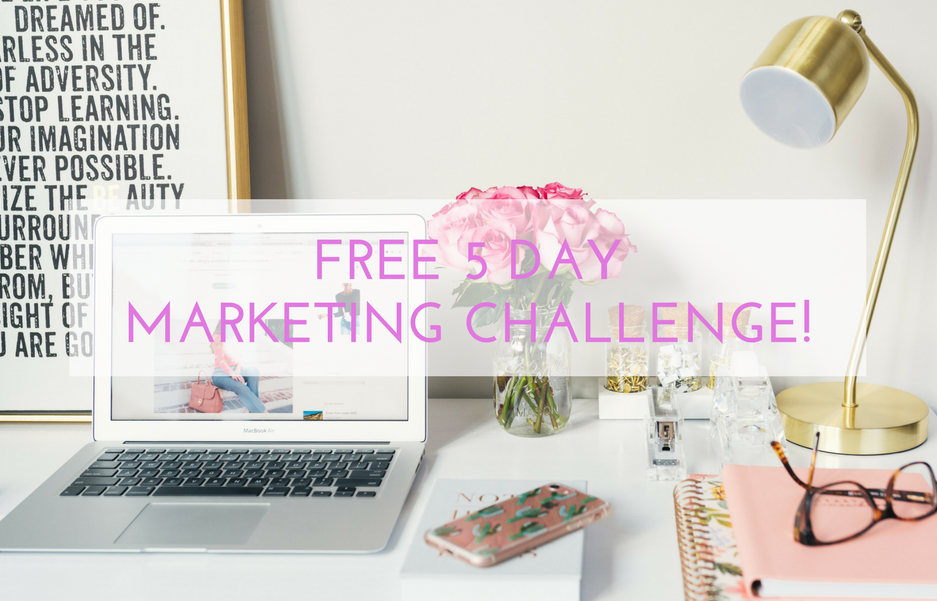 Free 5 Day Marketing Challenge